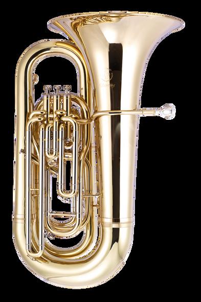 John Packer JP378 Sterling BBb Tuba in Gold Lacquer!