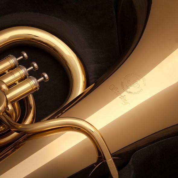 John Packer JP377 Sterling EEb Tuba in Gold Lacquer!
