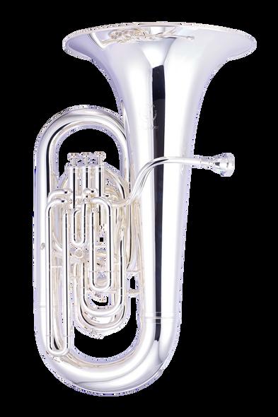 John Packer JP377S Sterling EEb Tuba in Silver Plate!