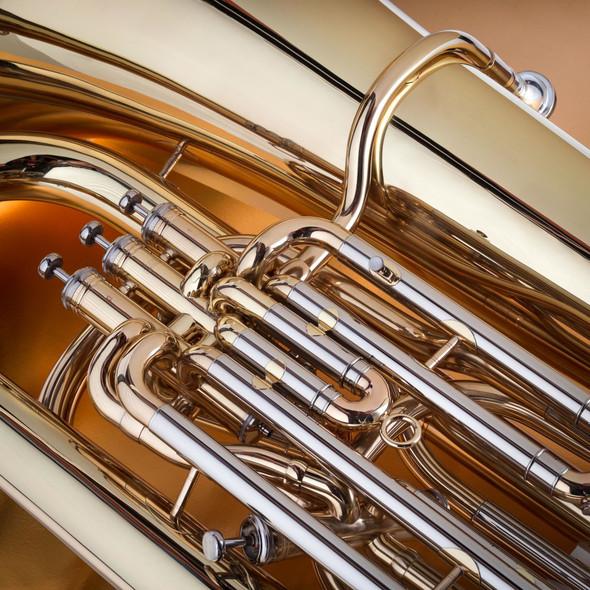 John Packer JP278 BBb Tuba in Gold Lacquer!