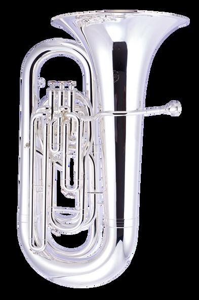 John Packer JP278S BBb Tuba in Silver Plate!