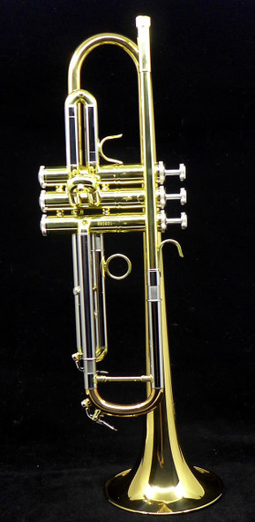 Bundle Deal on Manchester RL-GB Professional Bb Trumpet, with UP Care Kit, ACB MV3CS mpc, Hercules stand, and Soulo adjustable cup mute!