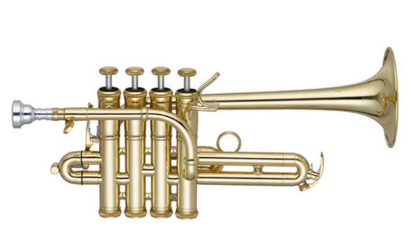 John Packer 254SW Bb/A Piccolo Trumpet in Lacquer!
