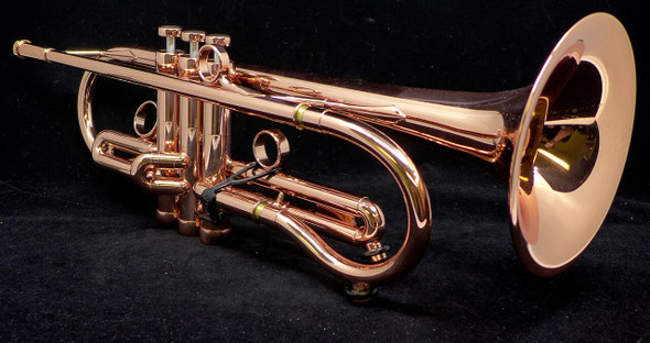 Custom Coppernicus: The Austin Custom Brass by Adams Trumpet in Copper with Sterling Silver Bell!