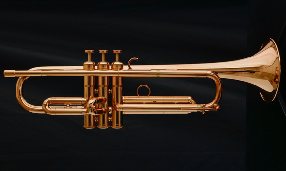 Adams A9 Selected Series Trumpet Large Bore in Copper Lacquer!