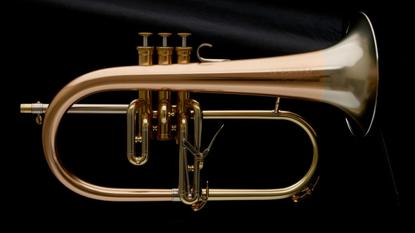 Adams F1 Selected Series Flugelhorn in Satin Lacquer!