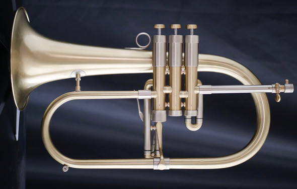 Adams F2 Selected Series Flugelhorn in Brushed Lacquer!