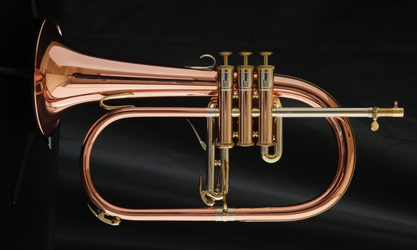 Adams Selected Series F5 Flugelhorn in Polished Lacquer!