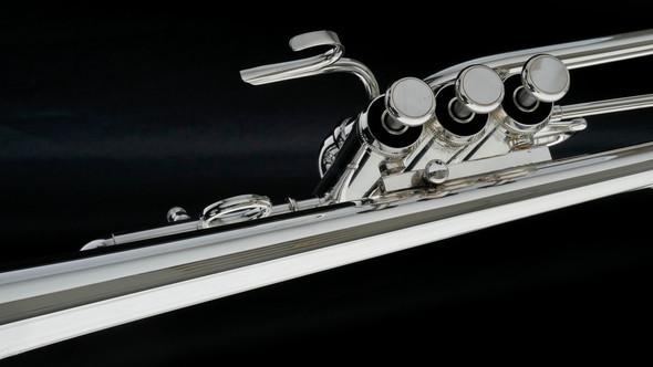 Adams Eb1 Selected Series Trumpet in Silver Plate!