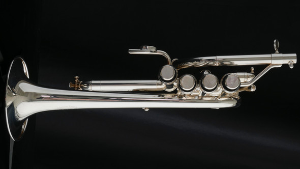 Adams P1 Selected Series Piccolo Trumpet in Silver Plate!