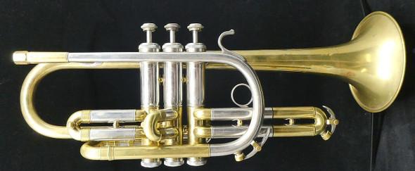 Pre-Owned Reynolds Cornet in Raw Brass