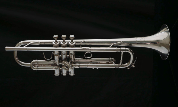 Pre-Owned LA Benge 3 with Resno-Tempered Bell in Silver Plate