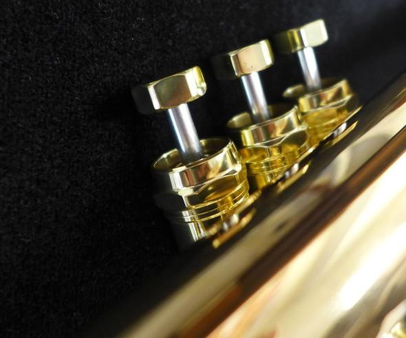 Manchester Brass Pro Flugelhorn with Gold Brass Bell!