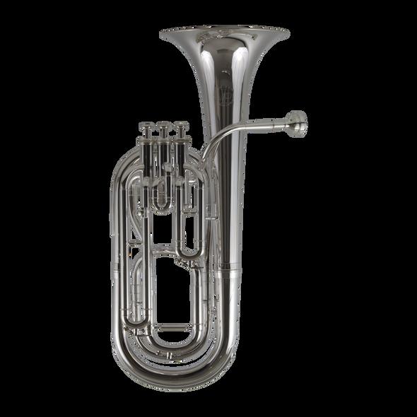 John Packer JP173S Baritone Horn in Silver Plate