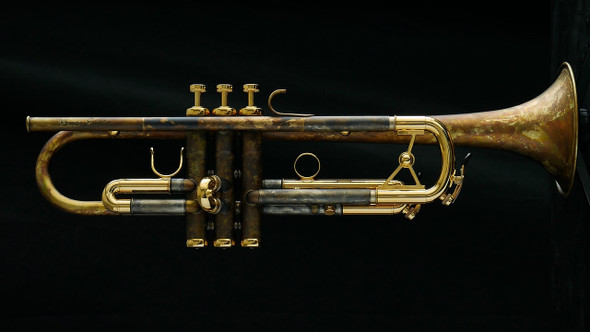 Beautiful Custom Schagerl Roman Empire Trumpet in Vintage Lacquer!