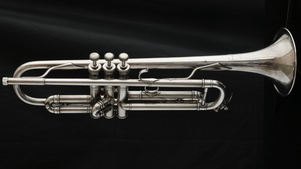 Unbelievable Condition Bach Stradivarius Serial #65 - Extremely Early Bach Trumpet! (EC-101)