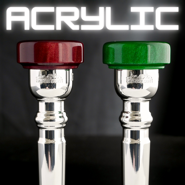 Austin Custom Brass Custom Trumpet Mouthpieces with Acrylic Rim