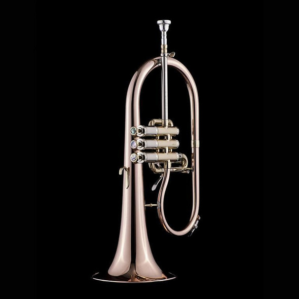 The Great  Schagerl James Morrison Flugelhorn in Clear Lacquer: an amazing work of art!