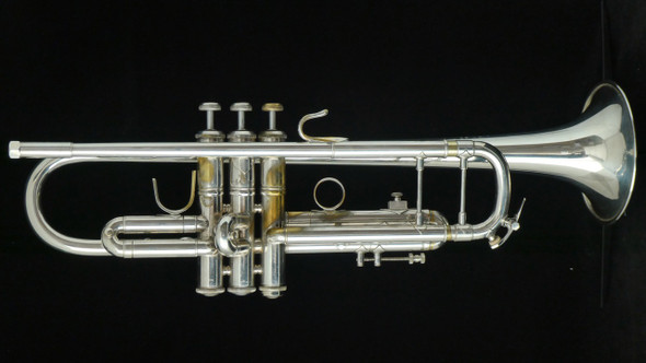 Pre-Owned Bach Stradivarius 43 Trumpet in Silver Plate!