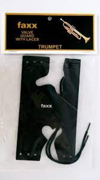Faxx Trumpet Valve Guard with Laces!