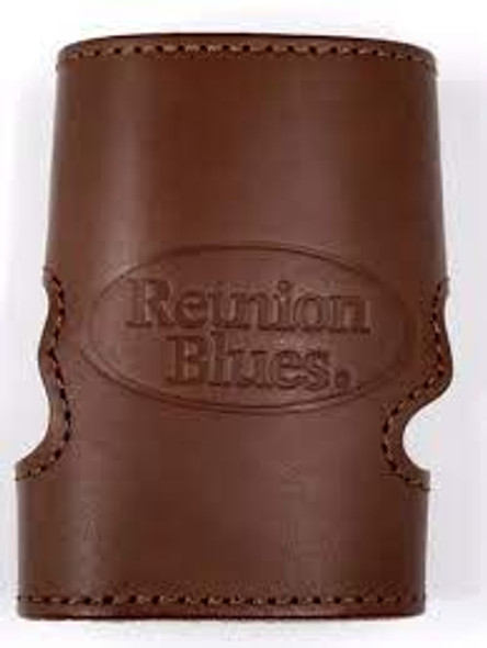 Reunion Blues Valve Guard in Brown Leather!