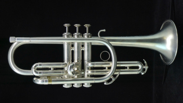 From the Collection:  Trent's Reynolds Hi-Fi Cornet in Satin Silver