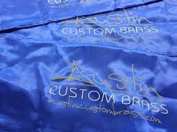 New deluxe design! Austin Custom Brass Silk Protective bag for trumpet