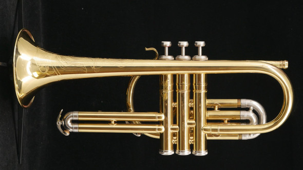 Rare 1954 Conn 34A Concert Special Cornet in Lacquer