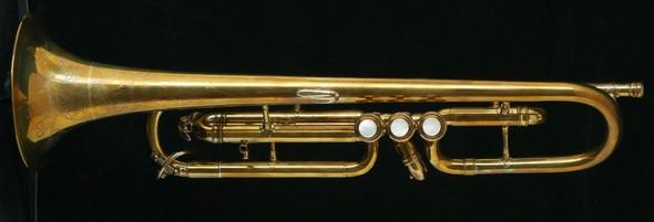 Rare Vintage York Air Flow Cornet in Beautiful Raw Brass!