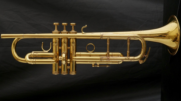 Custom Chicago Benge C/B-Flat Trumpet with Burbank Bell in Lacquer! ML Bore