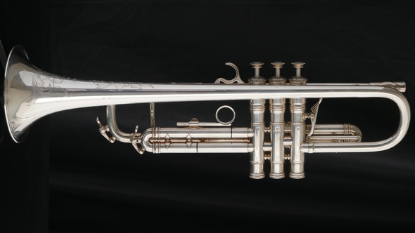 Pre-Owned Selmer Paris K-Modified Trumpet in Rare Silver Plate!