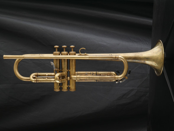 Awesome Vintage Olds Mendez Trumpet - Raw Brass!