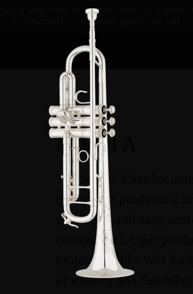 Shires Model A Trumpet in Silver Plate!