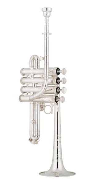 Shires Model 9Y Custom Series Piccolo Trumpet in Silver Plate!