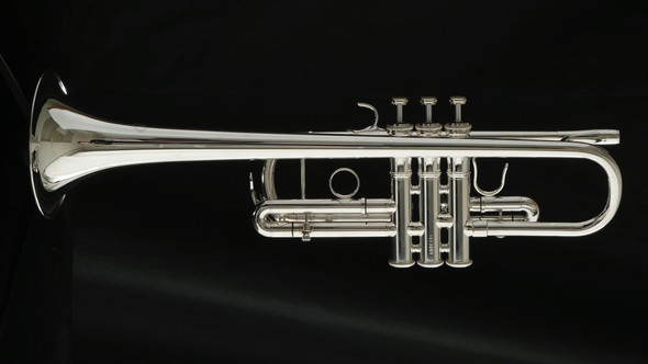 XO 1624 Professional C Trumpet in Silver Plate!