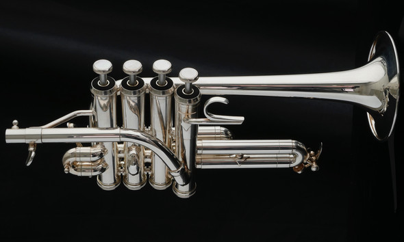 Shop Demo Adams P1 Selected Series Piccolo Trumpet in Silver Plate!