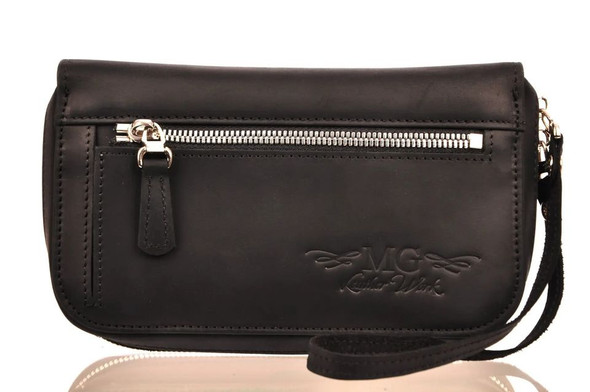 MG Leather Work 7-Mouthpiece Pouch in Leather