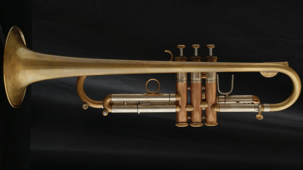 Pre-Owned Inderbinen Amarone Trumpet in with Alpha Leadpipe in Raw Brass!