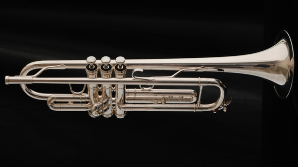 Very lightly Used Adams A1  Gen 1  Trumpet in Silver Plate!