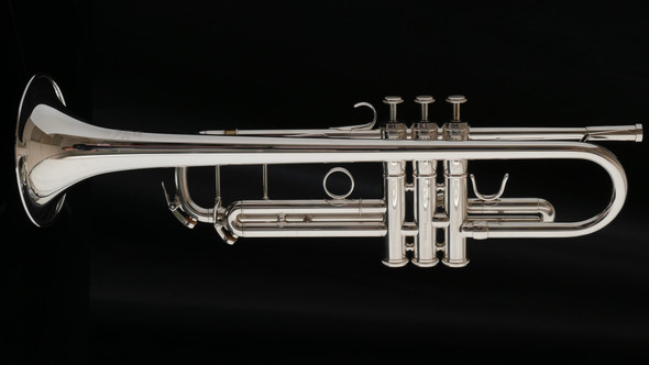 Barely Played Adams Sonic Model Professional Bb Trumpet in Silver Plate!