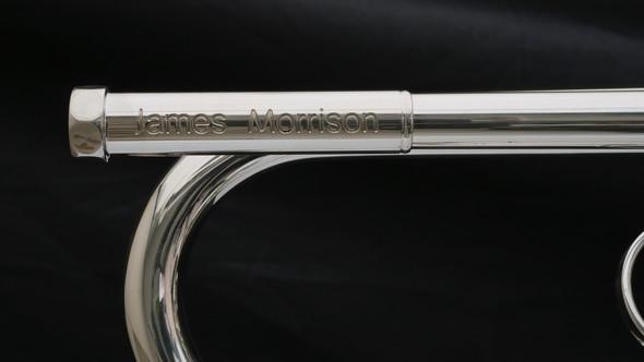 B-Stock Schagerl JM1-S James Morrison Bᵇ Trumpet in Silver Plate