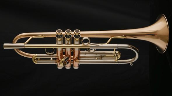 Adams A4LT Custom Series Trumpet with Gold Brass Bell!