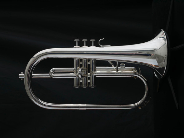 Pre-Owned Yamaha 2310S Flugelhorn in Silver Plate!