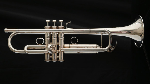Pre-owned Gen 1 Yamaha 8335RG Xeno Trumpet with Reverse Leadpipe in Silver Plate