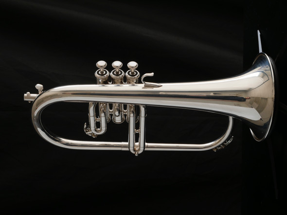 Pre-Owned Yamaha 731 Flugelhorn in Silver Plate