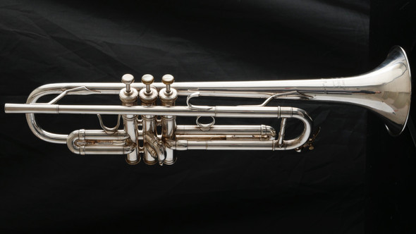 Vintage 1981 L.A. Benge CG (Claude Gordon) Trumpet in silver plate: Incredible commercial trumpet