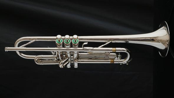 1968 Fullerton Olds Studio Model Trumpet in Nickel!