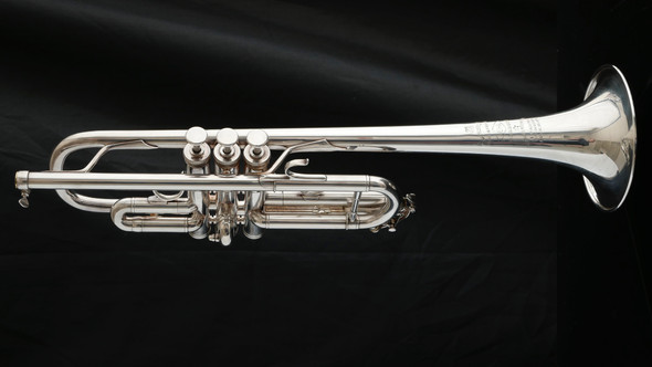 Pre-owned Besson Kanstul Meha C Trumpet in Silver Plate!