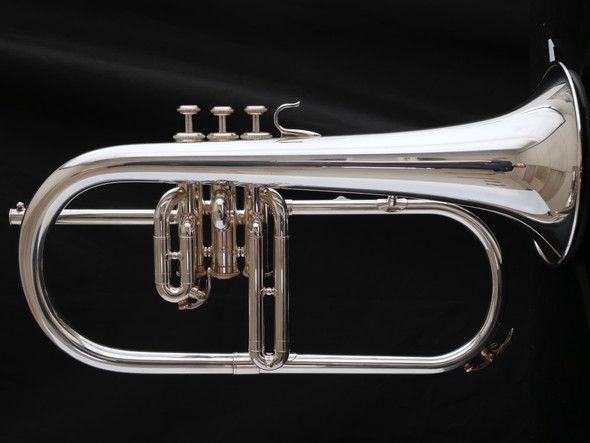 Pre-Owned Yamaha 731 Flugelhorn in Silver Plate!