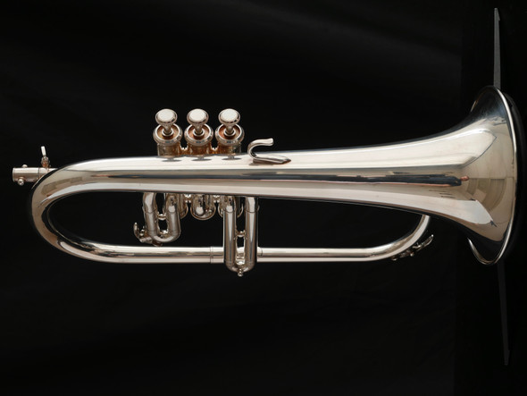 Pre-Owned Yamaha YFH-731 Flugelhorn in Silver Plate